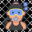 Diver Sport User Icon
