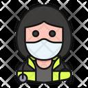 Avatar Woman Profession Icon