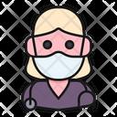 Avatar Woman Nurse Icon