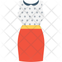 Woman Dress Clothing Icon