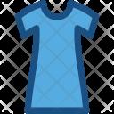 Short Dress Woman Icon