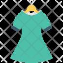 Woman Dress Clothing Icon