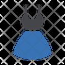 Woman Dress Dress Cloth Icon
