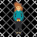 Woman Employee Icon
