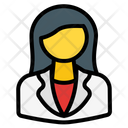 Woman Employee Employee Businessman Icon