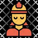 Woman Engineering Icon