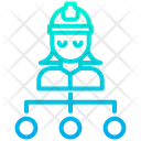 Woman Engineering Assignment Icon