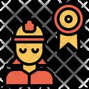 Woman Engineering Ribbon Icon