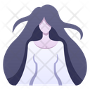 Woman Ghost Icon