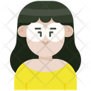 Woman Glasses Icon