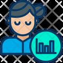 Bar Graph Graph Analysis Icon
