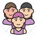 Woman Group Icon
