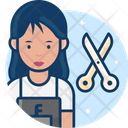 Woman Hairdresser Icon