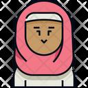 Woman Hijab Avatar Icon