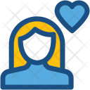 Woman In Love Icon
