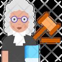 Woman Judge Icon