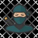 Woman Ninja Ninja Assassin Icon