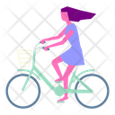 Bike Bicycle Cyclist Icon