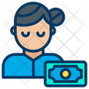 Woman Pay Payment Icon