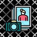 Woman Photograph Woman Photo Photo Icon