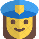 Woman Police Icon