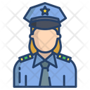 Woman Police Femlae Police Lady Police Icon
