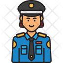 Woman Police Female Police Police Icon