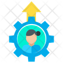 Woman Promotion Icon