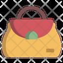 Woman Purse Shoulder Bag Pouch Icon