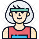 Woman Runner Icon