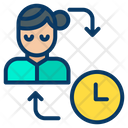 Woman Schedule Icon