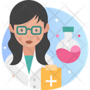 Woman Scientist Female Scientist Scientist Icon