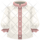 Woman Shirt Shirt Cloth Icon