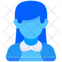 Student Woman People Icon