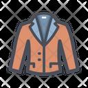Down Jacket Coat Winter Clothe Icon