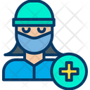 Woman Doctor Avatar Icon