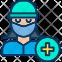 Woman Surgeon Icon