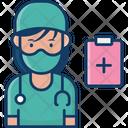 Woman Surgeon Woman Doctor Female Surgeon Icon