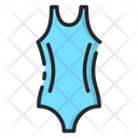 Woman Swim Suit Female Swimming Suit Swimming Costume Icon