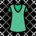 Shirt Ladies Cloth Icon