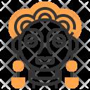 Woman tribal Icon
