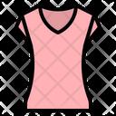 Tshirt Woman Shirt Icon