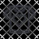 Woman Tshirt Icon
