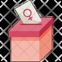 Woman Voice Voice Vote Icon