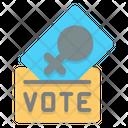Woman Vote Female Vote Vote Icon