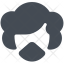 Woman Wear Mask Icon