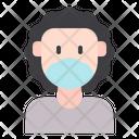 Man Male Medical Masks Icon