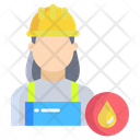 Woman Worker Icon