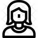 Women Avatar C Icon