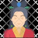 Women Chinese Girl Chinese Woman Icon
